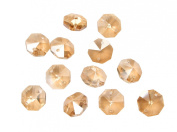 Sun Cling® Crystal 14mm Octagon Beads, Pack of 100