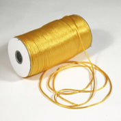 Firefly Imports FC0R000A5660 200 yd Satin Rattail Cord Chinese Knot, 2mm, Light Gold