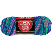 Coats Yarn Red Heart Super Saver Yarn, Bright Mix