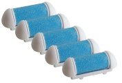 5 Count. CallusShaver Replacement Roller Heads