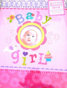 Baby Girl's First Memory Book