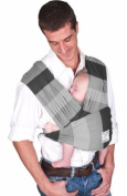 Baby K'tan Cotton Baby Carrier (Nifty Grey) - XS