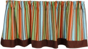 Tadpoles Birds of Paradise Window Valance