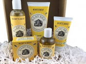 Burt's Bees Baby Bee New Baby Gift Set - Baby Oil, Nourishing Lotion, Buttermilk Soap, Nappy Ointment, Tear Free Shampoo & Wash