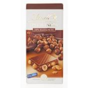 Lindt Les Grandes Milk Hazelnut Chocolate 150g.