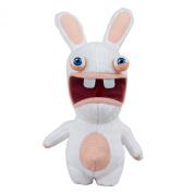 McFarlane Toys Rabbids Series 1 Plush with Sound Raving Rabbid Figure
