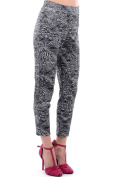 Printed Cropped Trousers