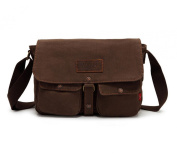 Bronze Times Professional Business Premium Canvas Messenger/Shoulder Bag