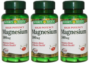 Nature's Bounty High Potency Magnesium 500mg, 300 Tablets