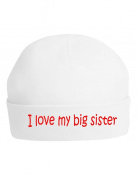 The Bees Tees I Love my Big Sister Baby's hat