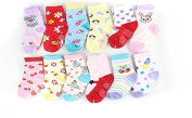 Domire 1 Pair of Baby Boys & Girls Socks Baby Dispensing Non-slip Socks Random