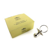 Baby Gift - Silver Plated Dummy In Gift Box Christening Gift