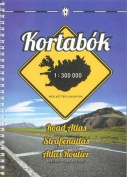 Iceland Road Atlas, with Town Plans, 2015-2016
