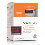 SpaRitual Harmonising Body Butter Kit - Italian Mandarin Bath Salts 218g & Body Butter 44ml