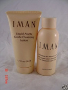 IMAN Cleansing lotion and refresher 2 bottles