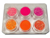 RM Beautynails Nail Art Glitter Set in Various Designs