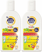 SunSense SPF 50 Plus Kids Sunscreen, 125 ml - Pack of 2 bottles