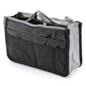 Gleader Travel Makeup Insert Handbag Organiser Purse Large Liner Organiser Bag for Women