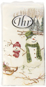 IHR Paper Pocket Handbag Tissues- Winterly Countryside