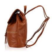 Veevan Womens Faux Leather Ultra-chic Daily Backpack
