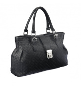 Intrigue Women's Handbag Black PU