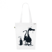 Tote Bag White Fashion numbered Canvas Print Organic Cotton-Game of Thrones
