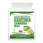 Body Smart Herbals - Garcinia Cambogia Pure Extreme Detox Max Capsules Weight Management Product