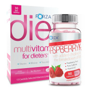 FORZA Raspberry K2 & Multivitamin For Dieters | One Month Supply