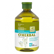 Elfa Pharm O'Herbal Shampoo for dry and damaged hair with flax extract 500ml