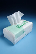 KLEEN 1 x 100 Airlaid Incontinence High Absorbent Soft Dry Wipes Macerator Friendly