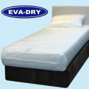 KLEEN EVA Dry Waterproof Double Mattress Cover. Incontinence aid 190cm x 140cm x 6""
