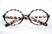MT53 Retro Oval Unisex Acetate Reading Glasses Available In 4 Colours