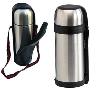 1.5L STAINLESS STEEL HOT N COLD VACUUM THERMOS FOOD FLASK TEA COFFEE DRINK