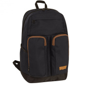 Levi's Ulster II 48cm Backpack, Black/Bronze/Brown, One Size