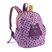 Lug Hokey Pokey Backpack, Plum Owl, One Size