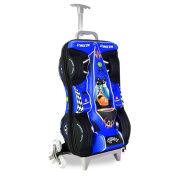 Fenza Racing Trolley - Childrens Carry-On Hand Luggage Racing Car Design 53x34x20cm Perfect for Ryanair and Easyjet