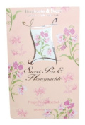 Sweet Pea and Honeysuckle by Heathcote and Ivory Fragrance Sachet