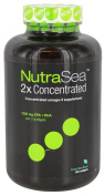 Ascenta, NutraSea 2x Concentrated, Fresh Mint Flavour, 1250 mg, 150 Softgels