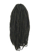 CyberloxShop® Marley Braid Afro Kinky Hair #4 Dark Brown