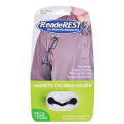 ReadeREST UNISEX Original Magnetic Eye Glass/ Spectacle/ Sunglasses/ Specs/ Badge/ ID Holder GunMetal Black Made in USA, Dispatch from UK