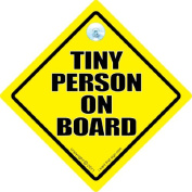 Tiny Person On Board Car Sign, Baby On Board Car Sign, baby on board, Baby On Board Sign, Maternity, Pregnancy, Tiny Person On Board, Car Signs, Baby Car Signs, bumper sticker,decal