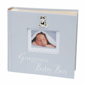Juliana Blue Photo Album Gorgeous Baby Boy 15cm x 10cm