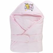 . Colourful Cartoon Printing Thicken Cotton Baby Swaddle/Wrap Blanket/Sleep Sack-Pink