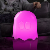 Pac-Man Plastic Ghost Lamp, White