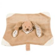 Nattou 211093 Cappuccino Comfort Blanket Rabbit
