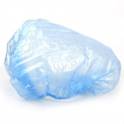 Sun Moon 100pcs Disposable Transparent Plastic Shower Hair Bath Caps for Spa Salon