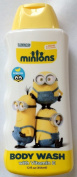 The Minions Movie Body Wash Vitamin E Fruit Scented 350ml Kids Bath Soap
