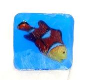 Kid's Bath Time Favourites Clown Fish Soap, Ocean theme soap