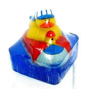 Fun kid's soap , Choo Choo Train Ducky bath soap