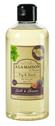 A La Maison Shower Gel - Fig & Basil, Fig & Basil, 16.9 Fluid Ounce